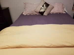 King-size bed for $350