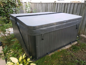 Top of the line hot tub.  Very slightly used