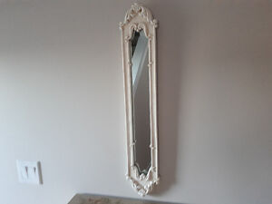 CHARMING ACCENT MIRROR - Decorative scrollwork frame-$ 10.00