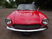 Fiat 124 Sport Spider Series 1 / 1968 / Chrome Bumper / Nut & Bolt Restoration
