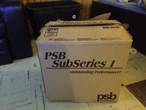 Brand New Psb subseries 1 subwoofer