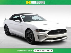 2018 Ford Mustang EcoBoost A/C GR ELECT MAGS BLUETOOTH