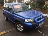LEFT HAND DRIVE LAND ROVER FREELANDER 2004
