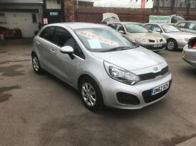 2012/62 Kia Rio 1.1CRDi ( 74bhp ) 1 Air EcoDynamics DIESEL *** NO ROAD TAX ***