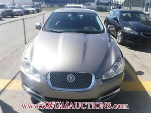 2009 JAGUAR XF BASE 4D SEDAN 4.2L BASE