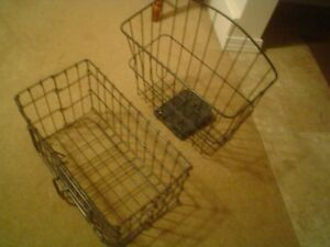 BLACK BASKETS, CARRIERS FOR ELECTRIC SCOOTERS, BICYCLE