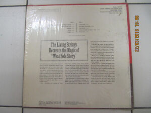 ClassicLivingStrings PlayMusicFrom West Side Story LP Circa 1969 London Ontario image 3