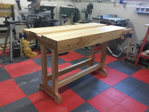 Veritas Style Woodworking Bench