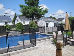 "REMOVABLE POOL FENCE  ""Child Safe Fence"""