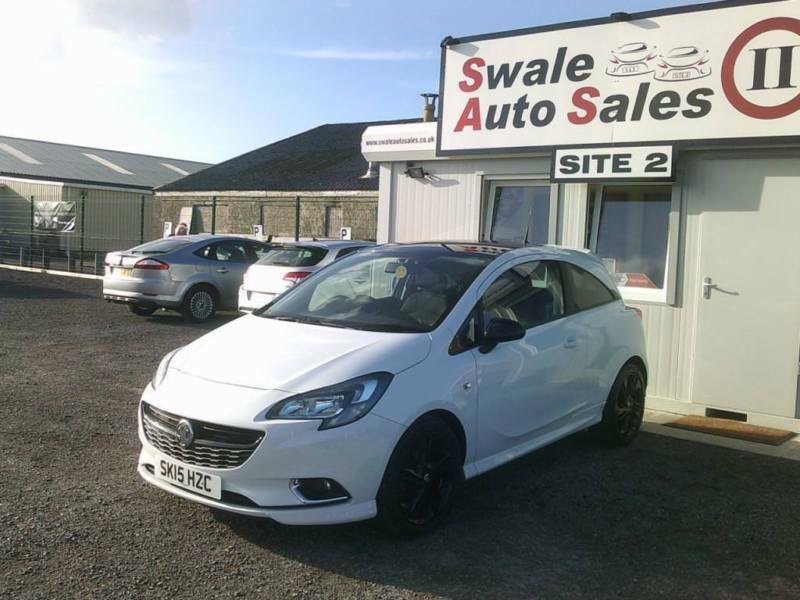 2015 VAUXHALL CORSA LIMITED EDITION 1.2L - 16,261 MILES - FULL SERVICE HISTORY
