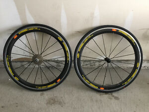 Mavic / Dura ace c35 wheelset