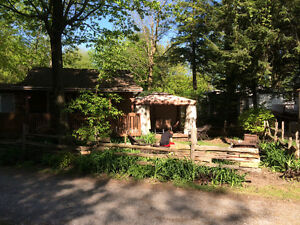 Chalet a vendre camping oasis