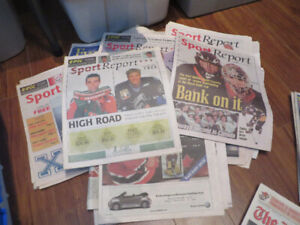 Halifax Mooseheads -Sports Extra papers-The Hockey News-84