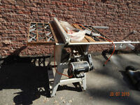 Ridig table saw