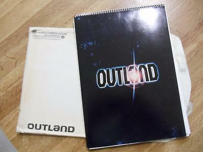 OUTLAND  ~ COMPLETE ORIGINAL MOVIE PRESS KIT COMPLETE   PHOTOS