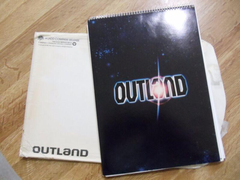 OUTLAND  ~ COMPLETE ORIGINAL MOVIE PRESS KIT COMPLETE   PHOTOS