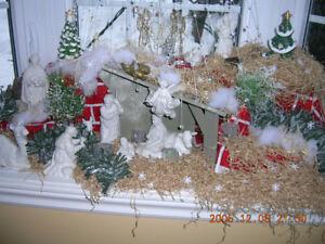 Crêche (nativity scen)