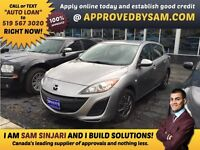 "CAR LOANS MADE EASY - MAZDA 3 - TEXT ""AUTO LOAN"" TO 519 567 3020"