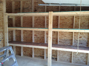 Custom wood shelving $600 and up 3 10 feet by 20 inch Strathcona County Edmonton Area image 3