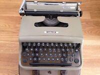 Retro - Olivetti 1950's typewriter - GB made
