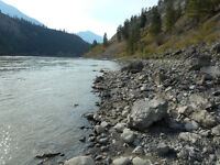 6 cell placer gold claim on Fraser river by Lillooet (or parts)