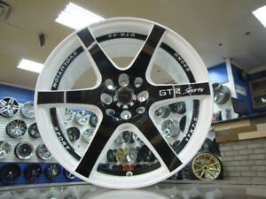 17 INCH GTR 06 4X100 AND 4X114.3 WHEELS AND TIRES AT CAR KRAZE