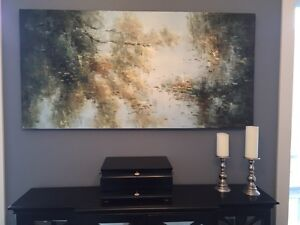 MONET Inspired Canvas Painting