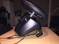 Logitech G27 mint condition racing wheel for PC and PlayStation