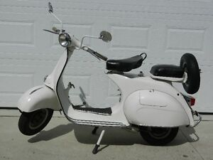 1964 PIAGGIO VESPA ALLSTATE SCOOTER 125CC 4 SPEED MADE IN ITALY