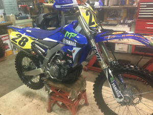 YZ450F Solid well maintained bike