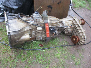 2003-2007 Ford 4X4 ZF 6 spd transmission