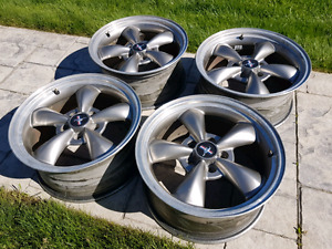 Ford mustang bullitt wheels