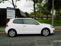 2011 11 Volkswagen Golf 2.0 TDI BlueMotion Tech GT 3dr WITH FVWSH+LEATHER+MP3