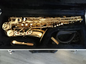 Wensen Alto Saxophone Gold with Hard Case and Strap $350