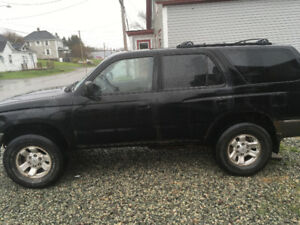 1997 Toyota 4Runner 2.7 4X4. Very reliable