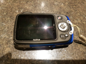 Waterproof Fujifilm digital camera