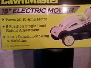 BRAND NEW ELECTRIC LAWN MOWER!