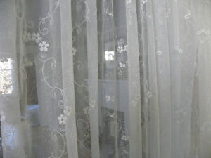 LACE CURTAINS FROM GERMANY