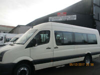 VOLKSWAGAN CRAFTER 17 SEATER MINIBUS WITH WHEELCHAIR ACCESS £11995+VAT