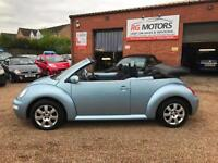 2005 Volkswagen Beetle 2.0 Cabriolet, Blue 3dr, **ANY PX WELCOME**
