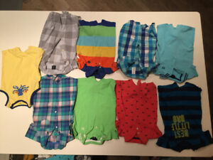 Boys 3-6 month summer clothes- cheaper than once upon a child!