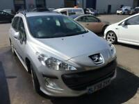 58 Peugeot 308 SW 1.6HDi S. 88000 miles.