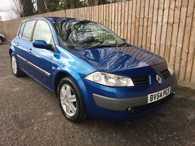 2003 53 Renault Megane 1.4 16v 98 Dynamique 12 MOT 52.3 MPG MAY P/X