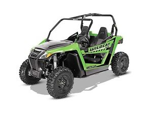 2016 Arctic Cat Wildcat Trail Lime Green Prince George British Columbia image 1