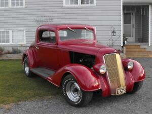 1934 OLDS- THREE WINDOW COUPE