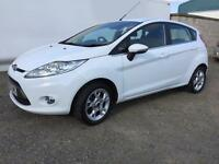 Ford Fiesta 1.25 ( 82ps ) 2012MY Zetec 1 owner 28,000 miles