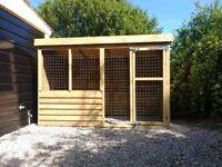 Dog box and hutches