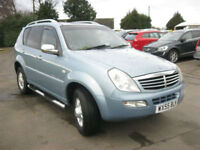 Ssangyong Rexton 2.7TD auto 2007MY RX 270 SE 4X4