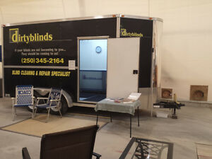 Mobile Ultrasonic Blind Cleaning and Repair Service