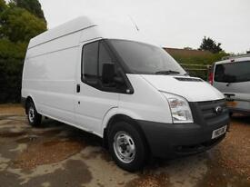 2012 12 FORD TRANSIT 2.2TDCI 6 SPEED T300 LWB HIGH ROOF 69000 MILES